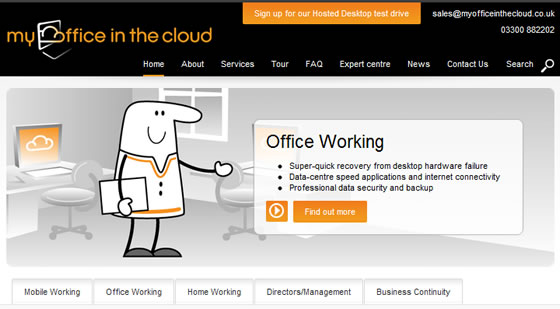 My Office in The Cloud goes live